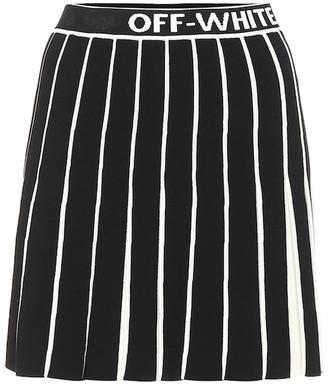 Off-White Off White Pleated miniskirt