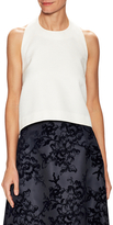 Carolina Herrera Open Back Halter Top