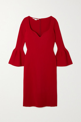 Stella McCartney Stretch-knit Dress - Red