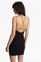 French Connection Kali Jersey Strappy Back Mini Dress