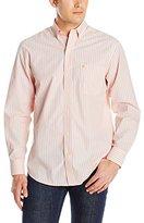 Izod Men's Long-Sleeve Essential Stripe Shirt