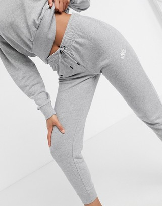 Nike grey essentials slim joggers