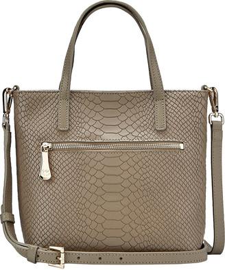 GiGi New York Billie Mock-Croc Crossbody Bag