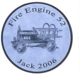 The Well Appointed House Fire Engine Personalized Plaque