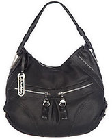 B. Makowsky As IsB. Makow sky Glove Leath er Zip Top Slouchy Hobo