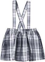 Joe Fresh Toddler Girls' Plaid Overall Skirt, JF Midnight Blue (Size 5)