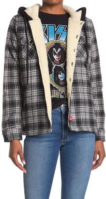 Dickies Faux Fur Lined Plaid Jacket