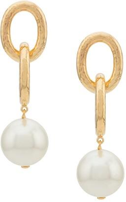 Aurelie Bidermann Manon pearls earrings
