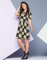 AX Paris Floral Print Jersey Dress