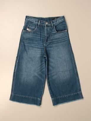 Diesel Wide 5-pocket Jeans