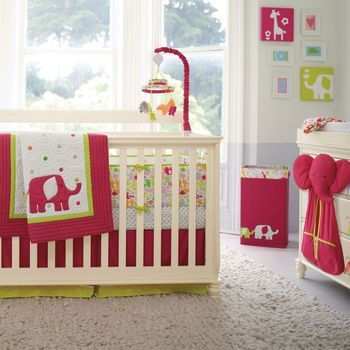 Carter's Safari Brights 4-Piece Crib Set