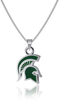 Michigan State Spartans Enamel Pendant Necklace
