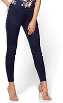New York & Co. The Crosby Pant - Slim-Leg Ankle - Navy - Petite