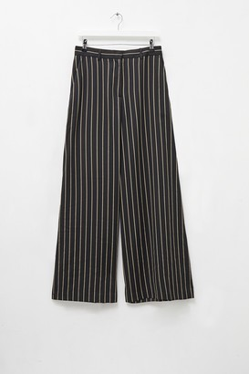French Connection Stripe Wide Leg Trousers