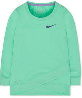 Nike Layered-Hem Sport Top, Toddler & Little Girls (2T-6X)