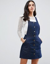 Goldie Street Smart Denim Pinafore Dress