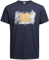 Jack and Jones Atmos T-shirt in Sky Captain M