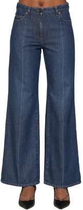 Valentino Vlogo Cotton Denim Jeans