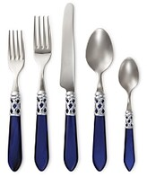 Vietri Aladdin Brilliant Blue 5-Piece Place Setting