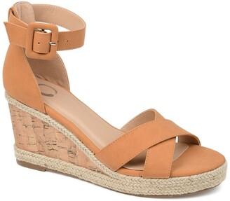 Journee Collection Telyn Wedge Sandal