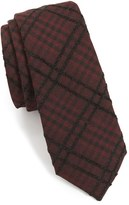 Alexander Olch Men's 'The Jack' Plaid Textured Cotton Tie