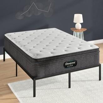 """Simmons Silver 15"""" Medium Pillow Top Mattress Mattress Size: Twin XL"""