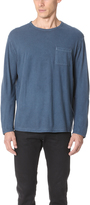 Robert Geller The Pigment Dyed Long Sleeve Shirt