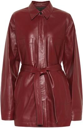Joseph Jent leather jacket