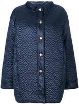 See by Chloe quilted sheen coat