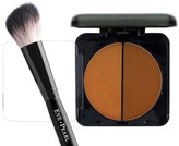 EVE PEARL Dual Pressed Powder & Brush Duo - Deep