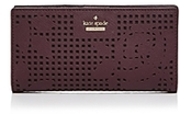 Kate Spade Cameron Street Stacy Perforated Leather Wallet