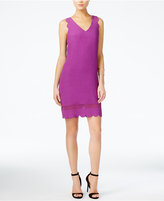 Armani Exchange Scalloped Shift Dress
