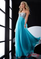 Jasz Couture - 5018 Dress in Aqua