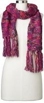 Gap Multi-color marled fringe scarf