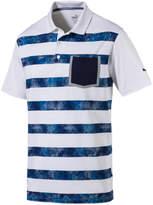 Puma Camo Stripe Golf Polo