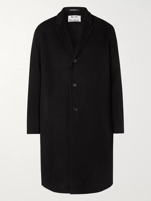 Acne Studios Double-faced Wool Coat - Black