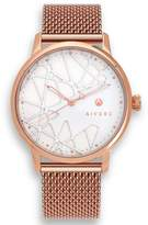 Limited Edition Luxury Analog Watches By Aiverc Opera Rose Gold Mesh With 40Mm Watch Band For Men