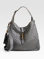New Large Jackie Guccissima Leather Shoulder Bag