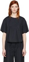 3.1 Phillip Lim Blue Poplin Pocket Top