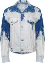 Sandy Liang Brimfield Bleached Denim Jacket