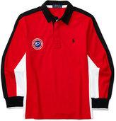 Ralph Lauren Contrast Rugby Shirt, Big Boys (8-20)