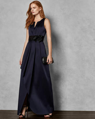 Ted Baker CASTALE Wrap maxi dress with bow