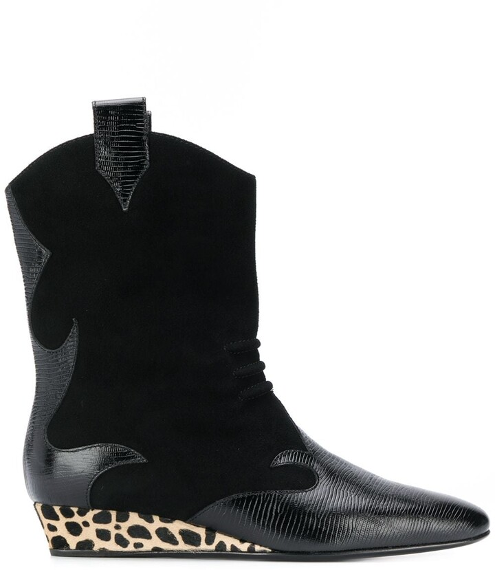 Giuseppe Zanotti wedge ankle boots