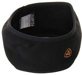 Ariat Polortek Power Stretch Fleece Headband (Black) - Accessories