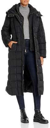 Cole Haan Plus Long Puffer Coat