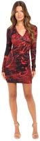 Just Cavalli Rock Romance Bodycon Jersey Dress