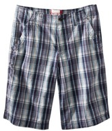 Mossimo Men's Plaid Short - Blue