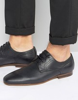 Zign Shoes Leather Lace Up Shoes