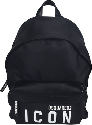 DSQUARED2 Icon Logo Print Backpack