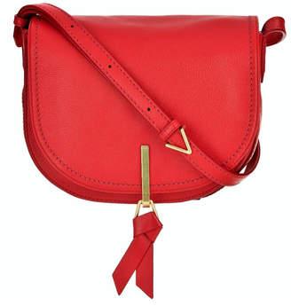 Vera Bradley Leather Carson Saddle-Bag